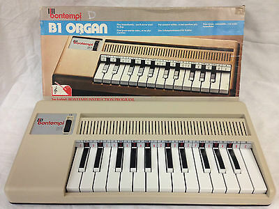 Vintage Bontempi B1 Organ, Working, Original Box,