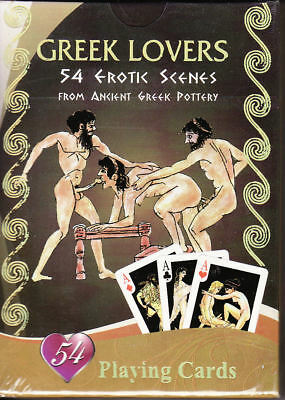 Playing cards: Greek lovers / Sex in Ancient Greece