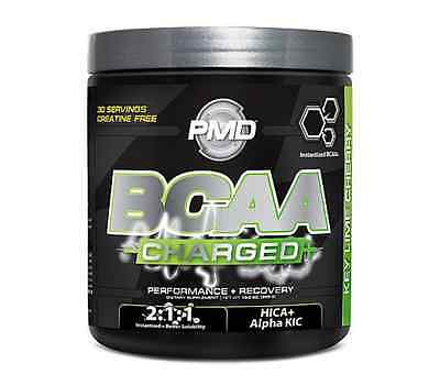 PMD BCAA Charged Key Lime Cherry Performance and Recovery Powder