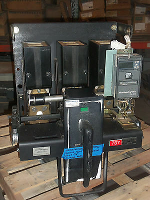 Westinghouse Type Db50 1600 Amp Trip 600V Air Circuit Breaker Microversa Ls