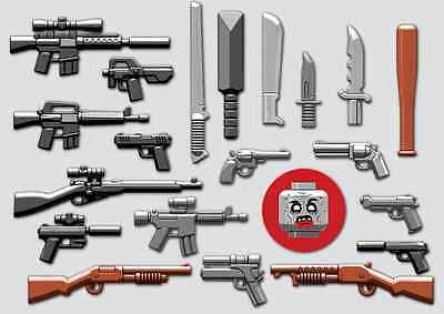 Brickarms Zombie Defense Pack 2016 Lego Minifigure Accessory Pack