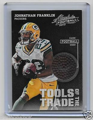 2013 Absolute Football Tools of the Trade Johnathan Franklin Game-Used Football