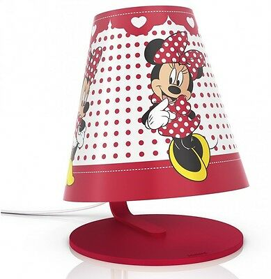 Philips Disney Minnie Mouse Children's Table Lamp - 1x 4W Integrated LED