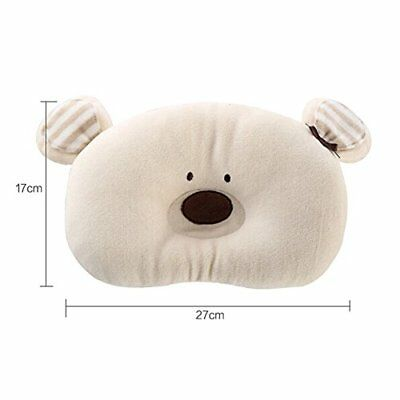 Newborn Infant Prevent From Flat Head Toddle Baby Head Support Pillow BEAR New