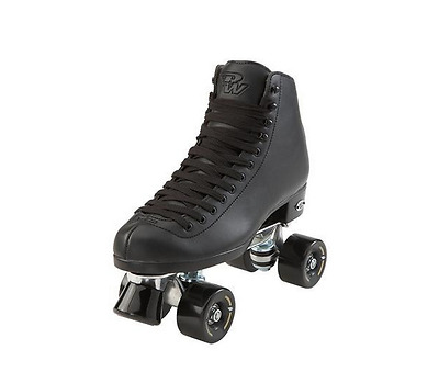 New Riedell Wave Black Riedell