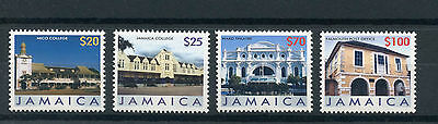 Jamaica 2006 MNH Buildings Definitive Part II 4v Set Theatre Post Office College