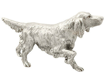 Sterling Silver Model of an Irish Setter by BSE Products - Contemporary 2011