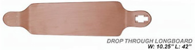 New DROPTHROUGH LONGBOARD - DECK ONLY Absolute Board Co