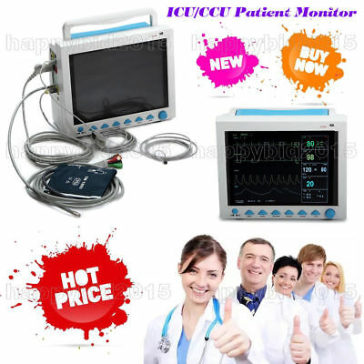 CE FDA Promotion 6-Parameter Vital Signs ICU/CCU Patient Monitor CONTEC CMS8000
