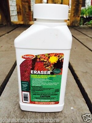 Martins Eraser Weed & Grass Killer 41% Concentrate 1 Pint Makes 10 Gallons
