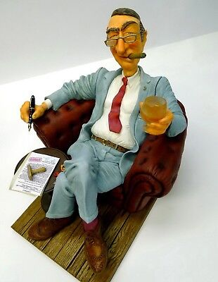 "GUILLERMO FORCHINO Professionals ""THE BIG BOSS"" Comic Art Figur - FO85532 NEU !!"