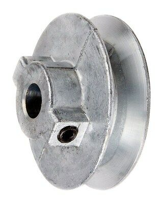 "Chicago Die Cast Single V Grooved Pulley A Belt w 4"" Dia X 1/2"" Bore Bulk"