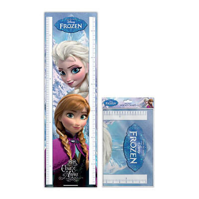 Frozen Anna & Elsa 1.6 Metre Height Chart Wall Poster 5 Foot 3 Kids Disney Olaf