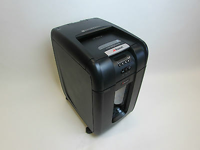 Rexel Auto 300 x Large Automatic Paper Shredder Confetti Cut 12 Month Guarantee