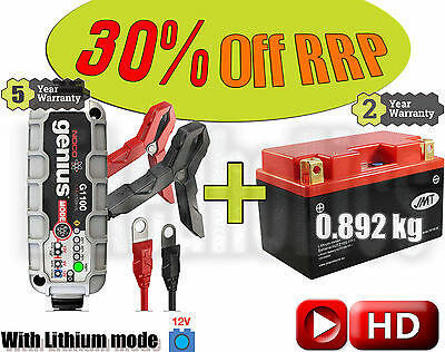 Lithium Deal - Battery + charger - Honda CB 1000 R - 2010
