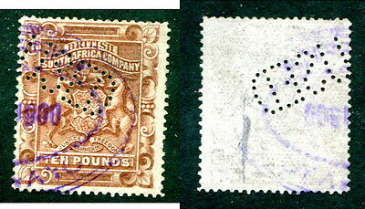 Used Rhodesia #19 (revenue cancel) (Lot #10629)