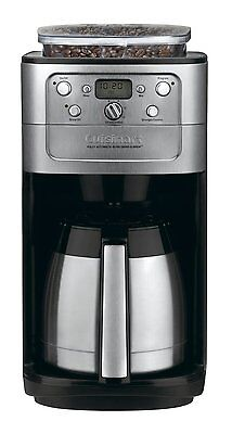 Cuisinart DGB-900BC Grind & Brew Thermal 12-Cup Automatic Coffeemaker, Brushed S