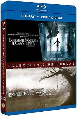 Pack Expediente Warren Blu Ray El Caso Enfield + The Conjuring ( Sin Abrir ) Fox