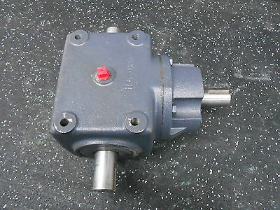 Browning Size 6 1:1 Ratio Double Shaft Bevel Gear Box Reducer