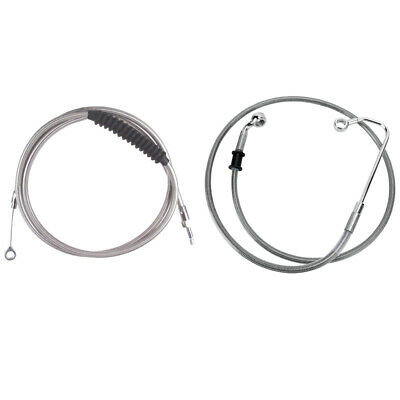 Stainless Cable & Brake Line Bsc Kit 2016-2017 Harley-Davidson Softail w/ABS