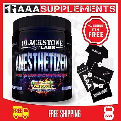 Blackstone Labs Anesthetized | 25 Serve Sleep Growth HGH Supplement Gym Fitness