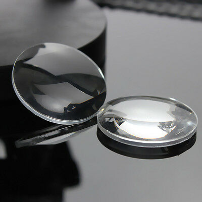 1Pair 25*45mm BiConvex Ultra Clear Lens for Google Cardboard 3D VR Glasses New