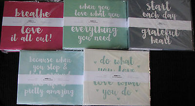 """Kaisercraft 12x12"""" D-Ring Album with 10 Sheets (You choose Quote design) KAISER"""