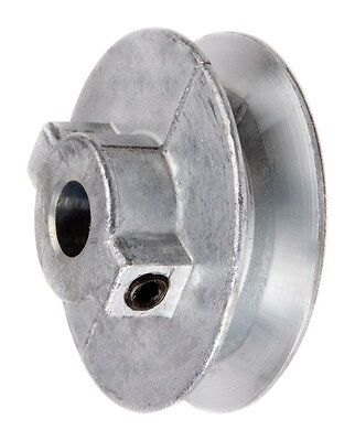 """Chicago Die Cast Single V Grooved Pulley A Belt w 2-1/2"""" Dia X 1/2"""" Bore Bulk"""