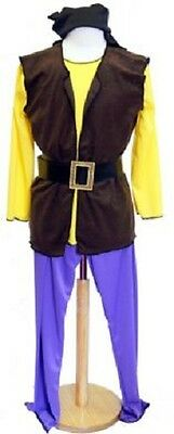 Unisex-Pirate-Stage-Show-Fancy Dress PIRATE SMEE COSTUME All Ages & Sizes