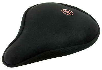 Coyote Gel Saddle Cover in black for  Ladies, Gents & Exercise bikes RRP £14.99