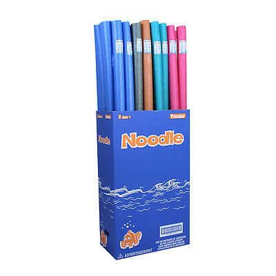 Tundra Swimming Pool Water Noodles Float Raft - 12 Pack With Color Options