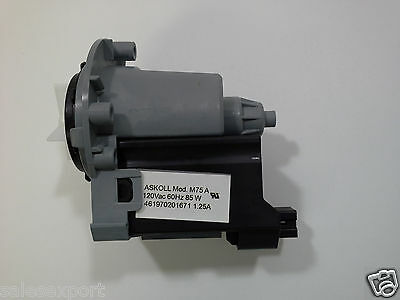 Whirlpool  washer pump 280187 ONLY Motor Askoll 1207, Today Shipping