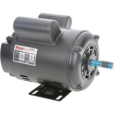 G2905 Grizzly Motor -  1 HP Single-Phase 1725 RPM Open 110V/220V