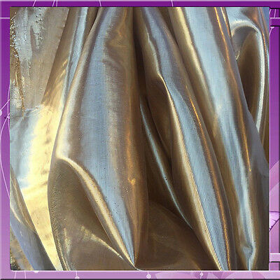 """60"""" wide Gold liquid Lame Fabric by the yard"""