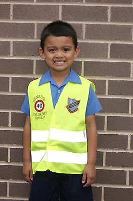 Child School High Visibility Safety Vest