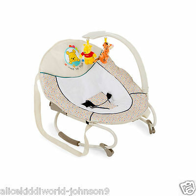 New Hauck Disney Winnie the pooh ready to play Leisure Baby Bouncer Bungee Rocky