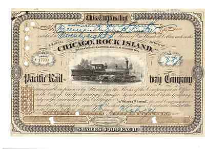 Chicago Rock Island and Pacific Railway  1891