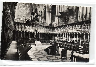 1 postcard Spain Toledo Cathedral Choir