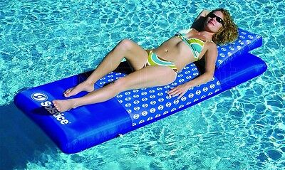 Inflatable Swimming Pool Float Floating Mattress Lounger Raft Summer Water Relax