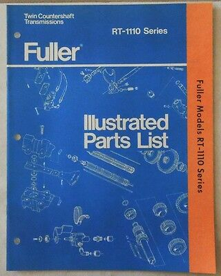 Eaton fuller transmission rt 1110 series parts list book 900 eaton fuller transmission rt 1110 series parts list book ccuart Choice Image