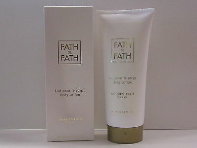 Fath De Fath by Jacques Fath for Women 6.8 oz Body Lotion New In Box Sealed