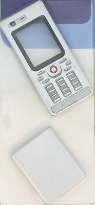 New!! Silver Housing / fascia / cover / case for Sony Ericsson W880 / W880i