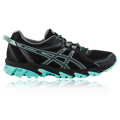 ASICS Gel-Sonoma 2 Womens Blue Black Trail Running Sports Shoes Trainers