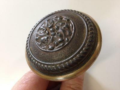 Door Knob - Vintage Very Nice Original Condition - Nice Patina 2 7/16 Inch Round