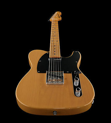 New Vintage V52Bs Butterscotch Reissue Series Tele Electric Guitar