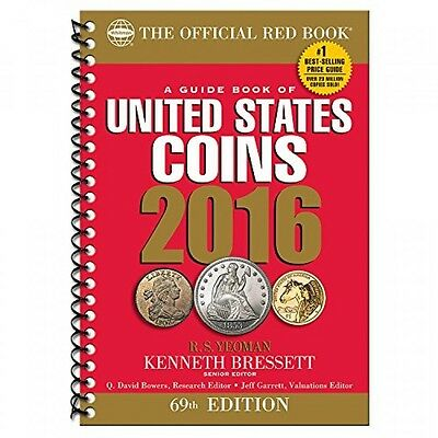 A Guide Book of United States Coins 2016, New, Free Shipping