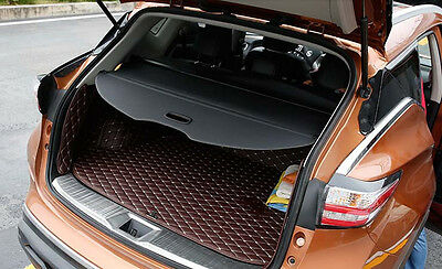Rear Trunk Shade Cargo Cover for 2015 Nissan Murano BLACK 2016