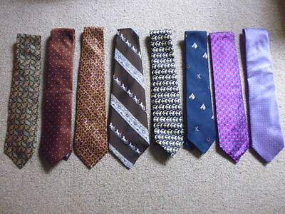 Equestrian country horse themed show ties adults various silk + polyester