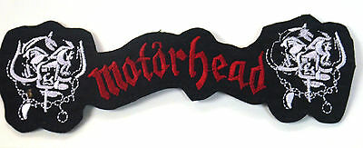 Motorhead Lemmy  Embroidered Applique Badge Morale Patch Sew Or Iron On