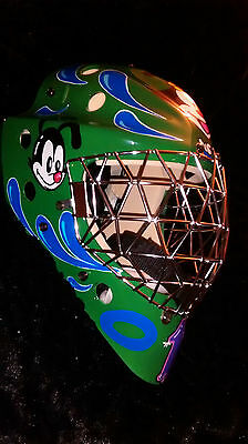 OLIE Goalie mask Ringette helmet ice Hockey Animaniacs Junior L